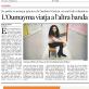 La Vanguardia - Oumayma viatja a l'altra banda